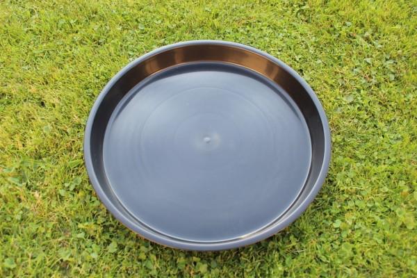 Untersetzer rund - Schwarz - 30 cm Ø