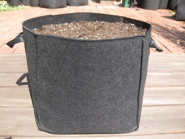 30 Liter Pflanzsack mit Henkeln 30 x 30 x 30 cm L/B/H
