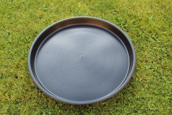 Untersetzer rund - Schwarz - 40 cm Ø
