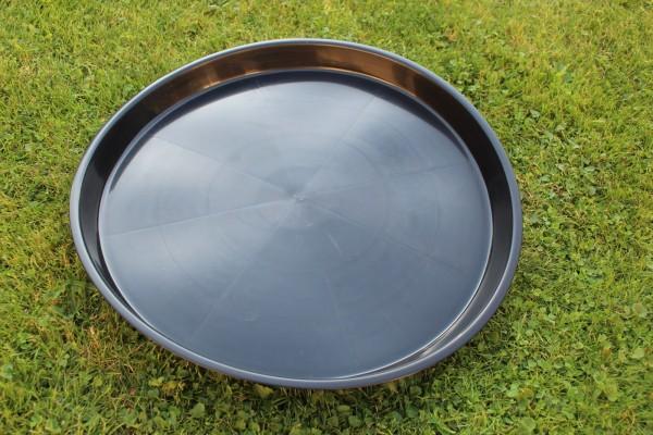 Untersetzer rund - Schwarz - 45 cm Ø