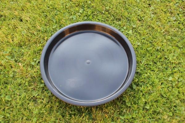 Untersetzer rund - Schwarz - 20 cm Ø